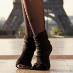 Eiffel tower with sexy socks